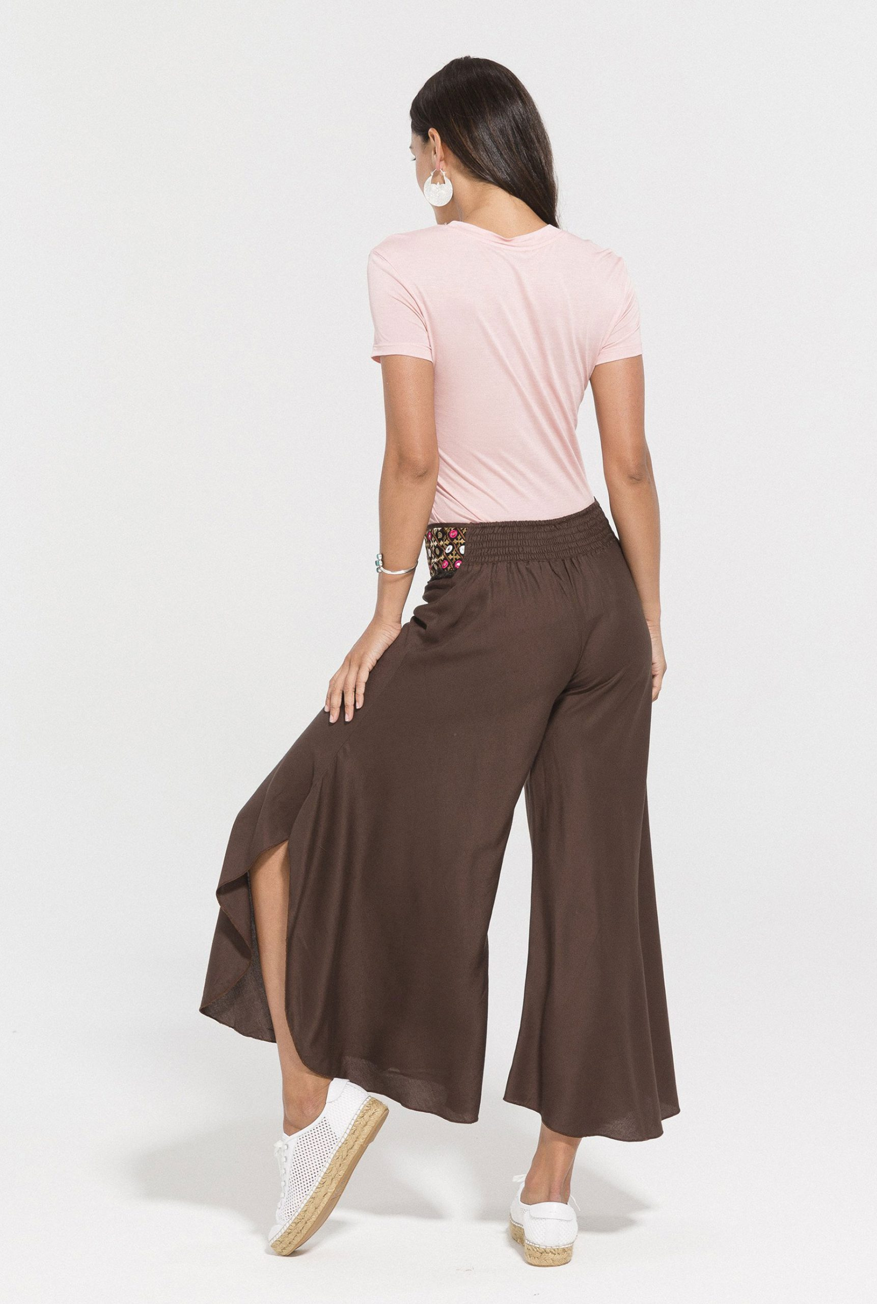 Embroidery Trousers