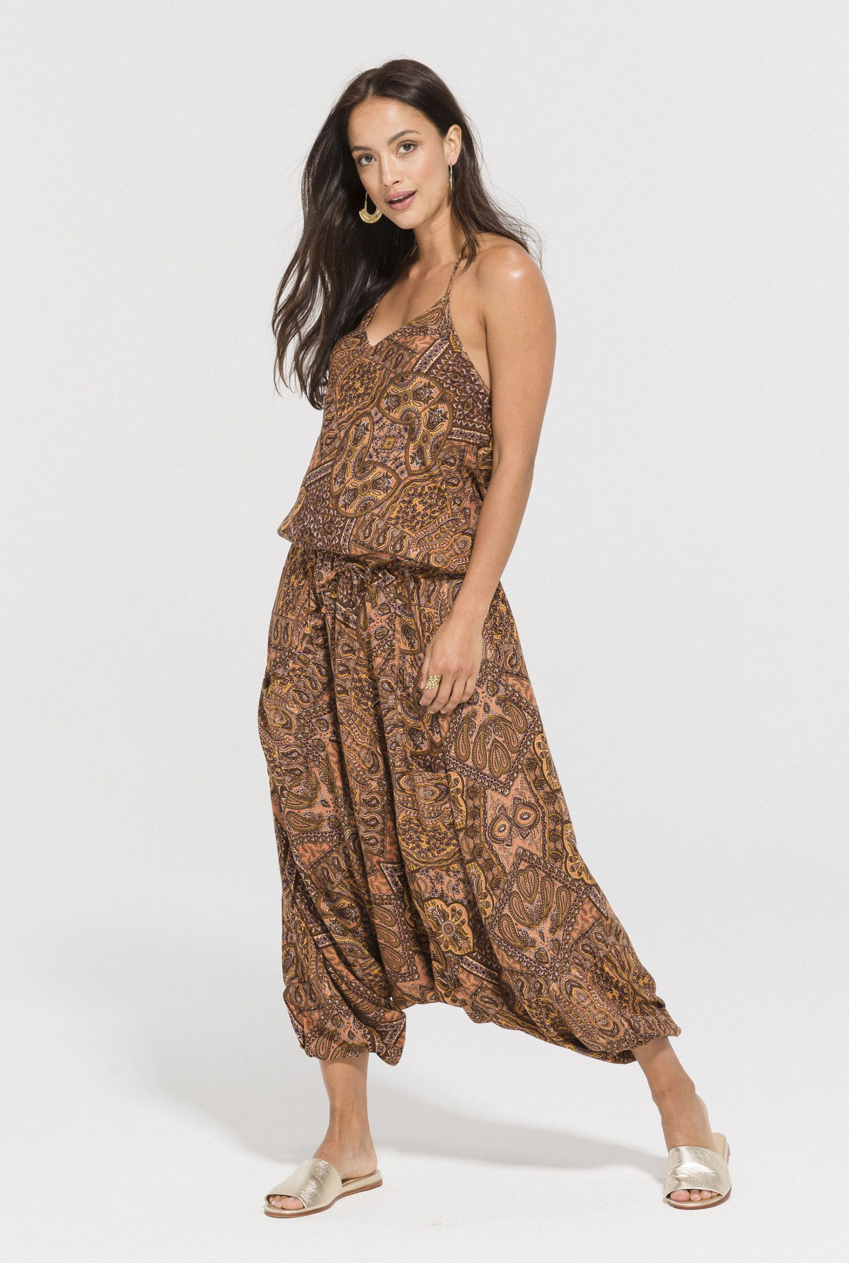 Rayon Easy Rider Jumpsuit
