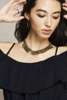 Simple Coin Brass Neckless